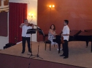 18 Δημήτρης Σέμσης - βιολί, Δημήτρης Παπαγιαννάκις - βιολί, Μαρία Τασσοπούλου - πιάνο (27 Μαΐου 2009)