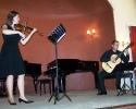 12 ''Μουσικό ταξίδι χωρίς τον Astor Piazzolla''. Μαρία Γούτου - βιολί, Ανδρόνικος Καραμπέρης - κιθάρα (11-05-2012)