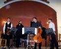 42 Μουσική για ... 242 χορδές. Χριστόφορος Καραθανάσης - βιολί, Βασίλης Ρακιτζής - πιάνο, Ιωάννης-Κων/νος Γιοβάνος - βιολοντσέλλο, Μάνος Γουβέλης - βιόλα (26-05-2012)