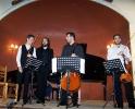 41 Μουσική για ... 242 χορδές. Χριστόφορος Καραθανάσης - βιολί, Βασίλης Ρακιτζής - πιάνο, Ιωάννης-Κων/νος Γιοβάνος - βιολοντσέλλο, Μάνος Γουβέλης - βιόλα (26-05-2012)