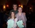 18 Βραβευμένες μαθήτριες της Φιλαρμονικής Εταιρίας Ωδείο Πατρών, μαζί με τον καθηγητή τους Παναγιώτη Κυδωνιάτη (18 Απριλίου 2011)