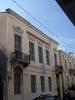 01 Εξωτερική άποψη του νεοκλασσικού κτιρίου που στεγάζεται η Φιλαρμονική Εταιρία Ωδείο Πατρών (επί της Ρήγα Φερραίου 7)