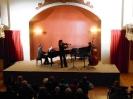 12 ''Συναυλία Νέου Έτους''. Μαρία Γούτου - βιολί, Χάρης Πεγιάζης - κοντραμπάσσο, Τίμος Γεννάτος - πιάνο (24-01-2014)