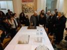 14 Ο Πρόεδρος της ''Φιλαρμονικής'' κ. Χρήστος Μούλιας κόβει την Πρωτοχρονιάτικη Πίττα του 2014 (24-01-2014
