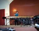 11 Συναυλία Κλασσικών Κρουστών. Χριστίνα Ματσατσίνη Υφαντή - μαρίμπα (11-02-2012)